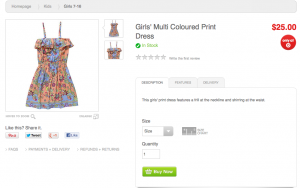 Multi Coloured Print Dress Target Australia 300x188 Content is King, always has been   always will be